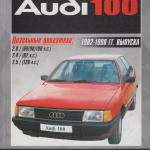 Audi 100 2,0 2,4 2,5 dizel Руководство по ремонту