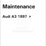 Audi a3 с 1997 г.в.